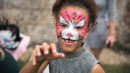 Childrens face-painting entertainment wedding planning Bordeaux France